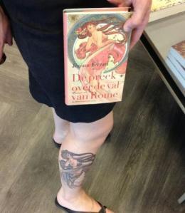 Michelle van Dijk, tattoo