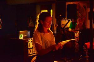 Michelle van Dijk, café Hemingway