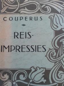 Louis Couperus, Reisimpressies