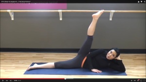 Pilates op Youtube