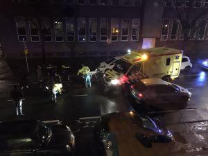 politie blauw licht